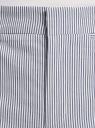 Брюки из хлопка с отворотами oodji для женщины (синий), 11701046-1/49875/7510O