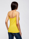Майка женская (упаковка 2 шт) oodji для женщины (желтый), 14305023T2/46147/5100N