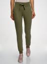 Комплект трикотажных брюк (2 пары) oodji #SECTION_NAME# (зеленый), 16700030-15T2/46173/6800N - вид 2