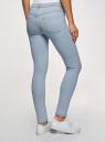 Джинсы базовые skinny oodji для женщины (синий), 12104060-1B/46250/7000W