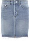 Юбка-карандаш джинсовая oodji #SECTION_NAME# (синий), 11510011-1/45254/7000W