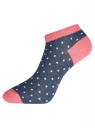 Комплект укороченных носков (10 пар) oodji #SECTION_NAME# (разноцветный), 57102433T10/47469/21