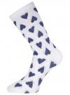 Комплект высоких носков (3 пары) oodji #SECTION_NAME# (разноцветный), 57102902T3/47469/43 - вид 4