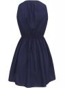 Платье из хлопка oodji для женщины (синий), 11900186-1/36217/7900N
