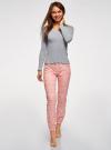 Пижама хлопковая с брюками oodji #SECTION_NAME# (разноцветный), 56002226/46154/2041E - вид 2