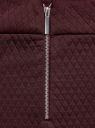 Юбка-карандаш стеганая oodji для женщины (красный), 24101036-2/42408/4900N