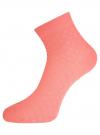 Комплект из шести пар хлопковых носков oodji #SECTION_NAME# (разноцветный), 57102711-1T6/48022/5