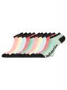 Носки укороченные (комплект из 10 пар) oodji для женщины (разноцветный), 57102605T10/48022/8