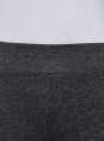 Легинсы базовые трикотажные oodji #SECTION_NAME# (серый), 18700046-2B/47618/2500M - вид 4