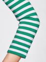 Футболка с рукавом 3/4 oodji для женщины (зеленый), 24201010B/46147/106DS