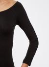 Комплект платьев с вырезом-лодочкой (3 штуки) oodji #SECTION_NAME# (черный), 14017001T3/47420/2900N - вид 5