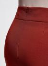 Юбка короткая базовая oodji #SECTION_NAME# (красный), 11600399-1B/14917/3100N - вид 5