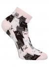 Комплект из шести пар хлопковых носков oodji для женщины (розовый), 57102418-5T6/48418/11 - вид 3