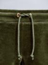 Шорты хлопковые на завязках oodji #SECTION_NAME# (зеленый), 17000024B/48006/6800N - вид 5
