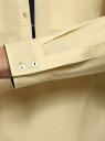 Рубашка приталенная с нагрудными карманами oodji #SECTION_NAME# (желтый), 11403222-3/42468/5000N - вид 5
