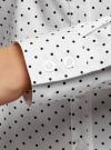 Рубашка принтованная приталенного силуэта oodji #SECTION_NAME# (слоновая кость), 21402213/35336/3029D - вид 5