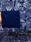 Свитшот принтованный с круглым вырезом oodji #SECTION_NAME# (синий), 14807021-1/46919/7910G - вид 5