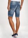 Шорты джинсовые с завязками oodji #SECTION_NAME# (синий), 6L200012M/48472/7500W - вид 3