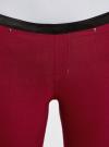 Брюки стретч узкие oodji для женщины (красный), 11713071-3B/14007/4900N - вид 4