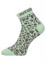 Комплект из трех пар укороченных носков oodji для женщины (разноцветный), 57102418T3/47469/33