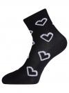 Комплект безбортных носков (3 пары) oodji #SECTION_NAME# (разноцветный), 57102801T3/48022/18 - вид 3