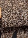 Куртка удлиненная на кулиске oodji для женщины (бежевый), 11D03006/24058/3329A - вид 5