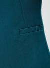 Жилет приталенный на пуговице oodji #SECTION_NAME# (синий), 12302002-1/46743/7900N - вид 5