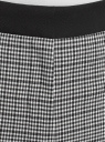 Брюки зауженные с лампасами oodji для женщины (черный), 11706216/49830/2910C