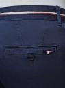 Брюки-чиносы из хлопка oodji для мужчины (синий), 2L150133M/47733N/7500N
