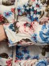 Куртка стеганая с круглым вырезом oodji для женщины (разноцветный), 10203072B/42257/3070F - вид 5
