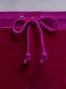 Брюки спортивные на завязках oodji #SECTION_NAME# (фиолетовый), 16701052B/47883/4C01N - вид 4