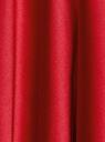Юбка миди атласная на подкладке из сетки oodji для женщины (красный), 11600364-1/45975/3100N