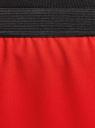 Юбка прямая на эластичном поясе oodji #SECTION_NAME# (красный), 11602177/38253/4500N - вид 4