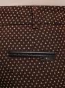 Брюки укороченные со стрелками oodji для женщины (коричневый), 21706025/46050/3957G