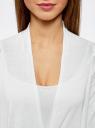 Кардиган легкий с удлиненными полами oodji для женщины (белый), 63212473-1/35762/1000X