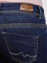 Джинсы облегающие с низкой посадкой oodji для женщины (синий), 12103164/43322/7500W