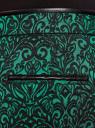 Брюки жаккардовые со стрелками oodji #SECTION_NAME# (зеленый), 21709006-1/38560/6E29J - вид 5