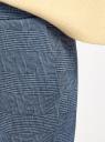 Брюки трикотажные на завязках oodji #SECTION_NAME# (синий), 16701073/49398/7529G - вид 5