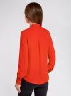 Блузка с металлическими стразами oodji #SECTION_NAME# (красный), 21401247/32823/4500N - вид 3