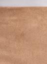 Юбка-карандаш из искусственной замши oodji #SECTION_NAME# (бежевый), 18H01017/47301/3500N - вид 4