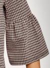 Блузка с воланами на рукавах oodji #SECTION_NAME# (розовый), 14201527-2/49746/5429C - вид 5
