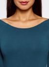 Комплект платьев с вырезом-лодочкой (3 штуки) oodji #SECTION_NAME# (синий), 14017001T3/47420/7901N - вид 4