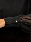 Платье прямого силуэта из струящейся ткани oodji #SECTION_NAME# (черный), 11900150-13/13632/2900N - вид 5
