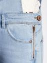 Комбинезон джинсовый с нагрудным карманом oodji #SECTION_NAME# (синий), 13108004/45379/7000W - вид 5