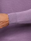 Джемпер базовый с круглым воротом oodji #SECTION_NAME# (фиолетовый), 4B112008M/25545N/8000M - вид 5