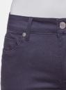 Джинсы skinny базовые oodji для женщины (синий), 12106141/45999/7900N