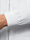 Ветровка на молнии с воротником-стойкой oodji для мужчины (белый), 1L514014M/48087N/1000N - вид 5