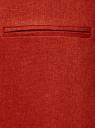 Жилет льняной длинный oodji для женщины (красный), 22300101B/16009/3101N