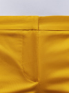 Шорты хлопковые базовые oodji #SECTION_NAME# (желтый), 11801093-1B/14522/5200N - вид 5
