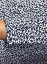 Блузка принтованная из вискозы oodji #SECTION_NAME# (белый), 11411049-1/24681/1079F - вид 5